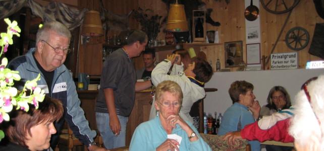 Abschlusswatten und Weihnachtsfeier 2007