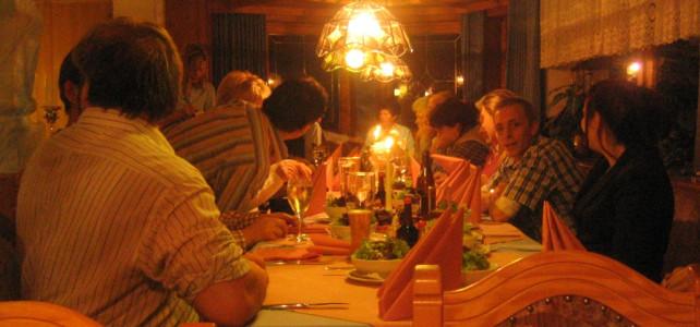 Abschlusswatten und Weihnachtsfeier 2006